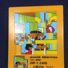 Puzzles: PUZZLE LABERINTO REF 529ZIPI Y ZAPE JUEDSA SAN JUAN DESPI BARCELONA CATALONIA PRESS 20X17CMS. Lote 112213611