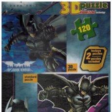 Puzzles: CAJA DE 2 PUZLES BATMAN (UNO EN 3D). Lote 112260107