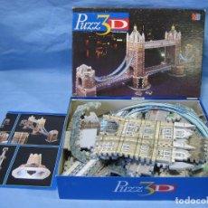 Puzzles: JUEGO PUZZLE 3D DE MB. Lote 189261053