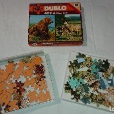 Puzzles: PUZZLE DUBLO DISET 42 PIEZAS. Lote 112570263