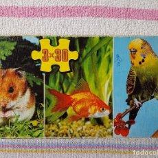 Puzzles: TRIO DE PUZZLES DE 30 PCS.. Lote 112834579
