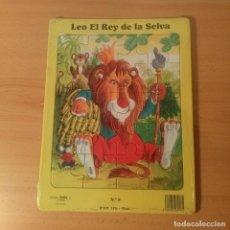 Puzzles: PUZZLE 20 PIEZAS LEO EL REY DE LA SELVA. EDICIONES TESTA. 1990 BARCELONA.. Lote 113996471
