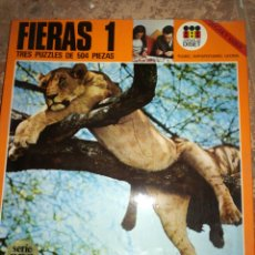 Puzzles: PUZZLES FIERAS 1 SERIE ORO DISET. Lote 114085572