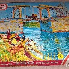 Puzzles: PUZZLE VAN GOGH - SERIE MUSEOS DE EDUCA- 750 PIEZAS. Lote 114297251