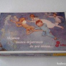 Puzzles: ÚNICO Y DIFÍCIL DE ENCONTRAR PUZZLE DE PETER PAN, ESTÁ COMPLETO (200 PIEZAS), EDHASA. Lote 114442871