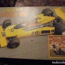 Puzzles: PUZZLE EDUCA FORMULA 1 EMERSON FITIPALDI - COPERSUCAR 1974 - SIN USAR. Lote 114495307
