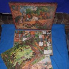Puzzles: PUZZLE DE CUBOS ROMPECABEZAS DE 54 PIEZAS DE CHANTECLER DE LOS AÑOS 40!!!!. Lote 114768067