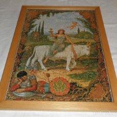 Puzzles: PUZZLE HOROSCOPO TAURO ENMARCADO. Lote 114828479