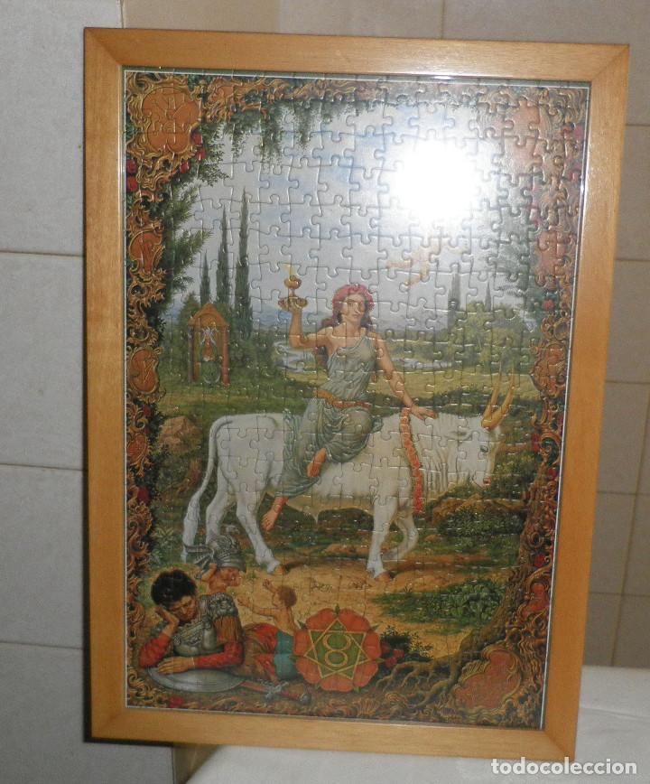 Puzzles: puzzle horoscopo tauro enmarcado - Foto 2 - 114828479