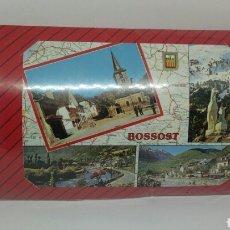 Puzzles: PUZZLE POSTAL BOSSOST LLEIDA PIRINEUS ESCUDO ORO. Lote 115261508