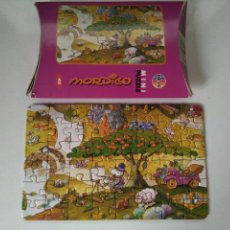 Puzzles: MINI PUZZLE 17,6X11,0 CM - 48 PIEZAS - MORDILLO - HEYE - REF. 8162. Lote 115302451