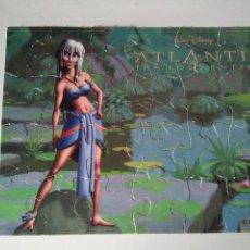 Puzzles: MINI PUZZLE DE 2 CARAS ATLANTIS - DISNEY - CEREALES NESTLÉ. Lote 115302883