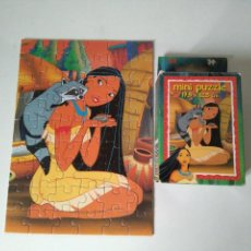 Puzzles: MINI PUZZLE POCAHONTAS 54 PIEZAS - 17,5X12,5 CM - DISNEY - KING. Lote 115303539