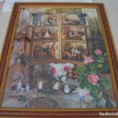 Puzzles: CUADRO PUZZLE CASA DE MUÑECAS. Lote 217151890