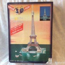 Puzzles: PUZZLE 3D TORRE EIFFEL...POPULAR DE JUGUETES NUEVO. Lote 117162155