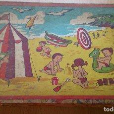 Puzzles: ANTIGUO JUEGO DE CUBOS ROMPECABEZAS TOLEDANO AÑOS 50. Lote 117453831
