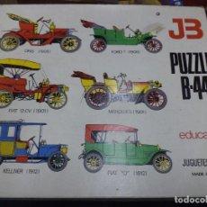 Puzzles: PUZZLE COCHES CLÁSICOS B-44 DE JUGUETES BOSCH.MADE IN SPAIN AÑOS 70.MADERA.. Lote 117900067