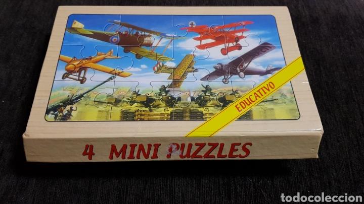 Puzzles: 4 MINI PUZZLES EDUCATIVO - Foto 4 - 118070815