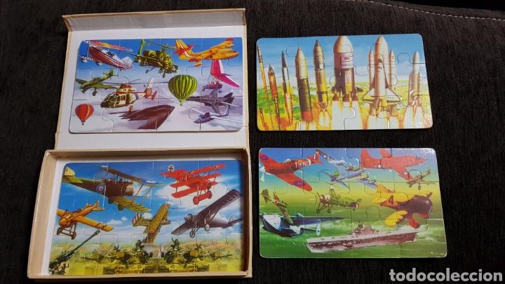 Puzzles: 4 MINI PUZZLES EDUCATIVO - Foto 5 - 118070815