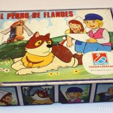 Puzzles: EL PERRO DE FLANDES - PUZLE CUBOS - DALMAU CARLES PLA - REF. 665 - PUZZLE - COMPLETO. Lote 118653659