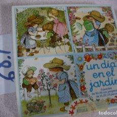 Puzzles: ANTIGUO PUZZLE PROGRESIVO EDUCA - UN DIA EN EL JARDIN. Lote 118800231
