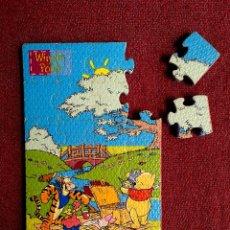 Puzzles: PUZLE 24 PIEZAS WINNIE THE POOH DE GOMA EVA - 16,5X26,5 CM. Lote 118898715