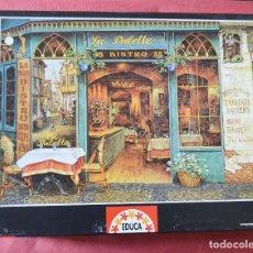 Puzzles: PUZLE EDUCA DE 1000 PIEZAS - BISTRO FRANCES. Lote 119541715