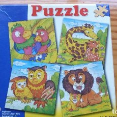 Puzzles: PUZZLE DE MADERA. ANIMALES. Lote 120036339