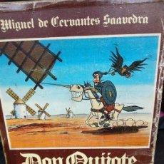 Puzzles: ROMPECABEZAS PUZZLE EL QUIJOTE AÑO 1978 VINTAGE. Lote 120098923