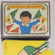 Puzzles: JUEGO ABECEDARIO IDEOGRAFICO. Lote 120653530