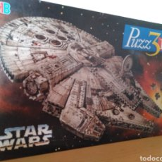 Puzzles: PUZZLE 3D STAR WARS MB COMPLETO. Lote 133723327