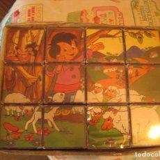 Puzzles: PUZZLE DE CUBOS AÑOS 60/70. Lote 121164275