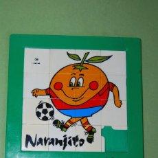 Puzzles: PUZZLE GRANDE DE NARANJITO - ESPAÑA 82. Lote 121559551