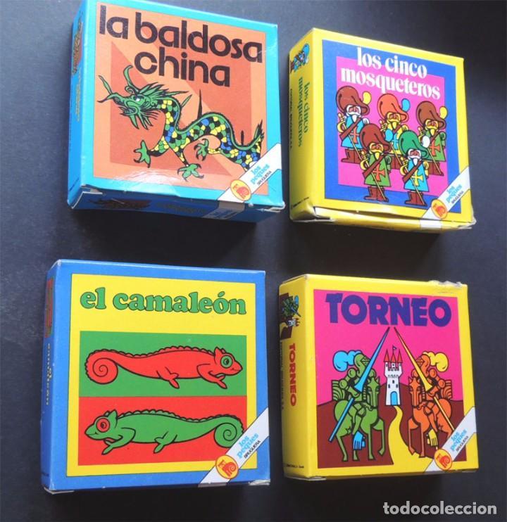 4 JUEGOS DE MESA / COLECCION LOS PEQUES / ED. BRUGUERA AÑOS 80 / (Juguetes - Juegos - Puzles)