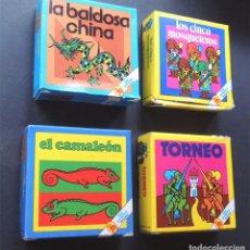 Puzzles: 4 JUEGOS DE MESA / COLECCION LOS PEQUES / ED. BRUGUERA AÑOS 80 /. Lote 122203027