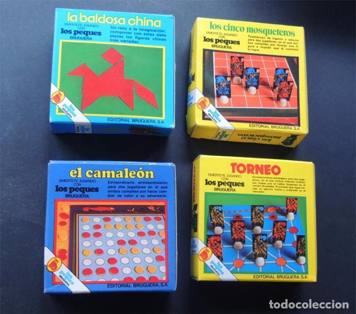 Puzzles: 4 JUEGOS DE MESA / COLECCION LOS PEQUES / ED. BRUGUERA AÑOS 80 / - Foto 2 - 122203027