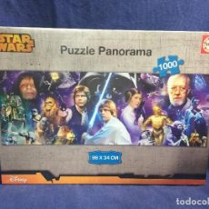 Puzzles: STAR WARS PANORAMA PUZZLE NUEVO BAJO FILM EDUCA 5,5X27X37CMS. Lote 122293867