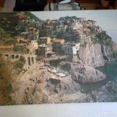 Puzzles: PUZZLE 300 PIEZAS. DIMENSIONES 120 X 85 CM. PUEBLO MANAROLA ITALIA. Lote 122699987