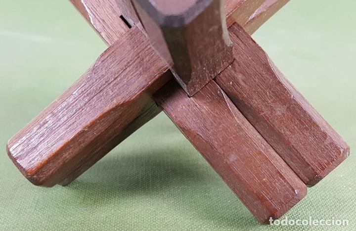 Puzzles: PUZZLE DE MADERA. BURR DE 6 PIEZAS. SECCIÓN CUADRADA. SIGLO XX. - Foto 4 - 123107647