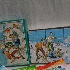 Puzzles: ANTIGUO ROMPECABEZAS PUZZLE DEPORTES DE ÉPOCA AÑOS 50. Lote 123537571