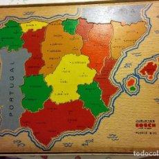 Puzzles: PUZZLE JUGUETES BOSCH DE MADERA AÑOS 60. Lote 126311883