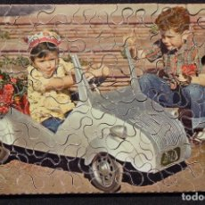 """Puzzles: ANTIGUO PUZZLE DE MADERA """"BISCUTER"""". Lote 126647383"""
