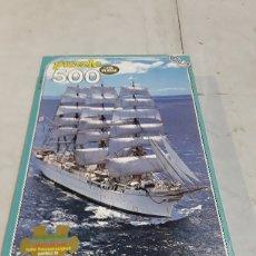Puzzles: PUZZLE BARCO 500 PIEZAS MARCA EDUCA. Lote 127159955