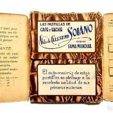 Puzzles: JUEGO FÚTBOL ROMPECABEZAS KICK GOL OBSEQUIO PASTILLAS CAFÉ LECHE VIUDA DE SOLANO LOGROÑO AÑOS 40 50. Lote 127636223