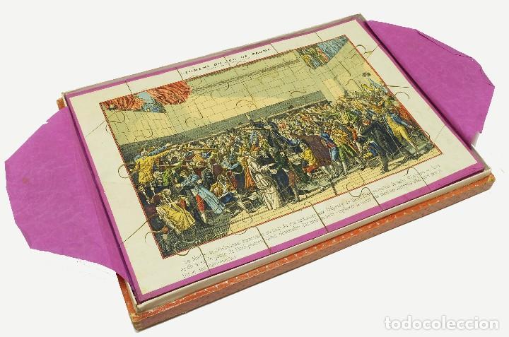 Puzzles: 1880 - Muy raros y antiguos puzzles (3) de Historia de Francia - En su caja - Foto 2 - 127653391
