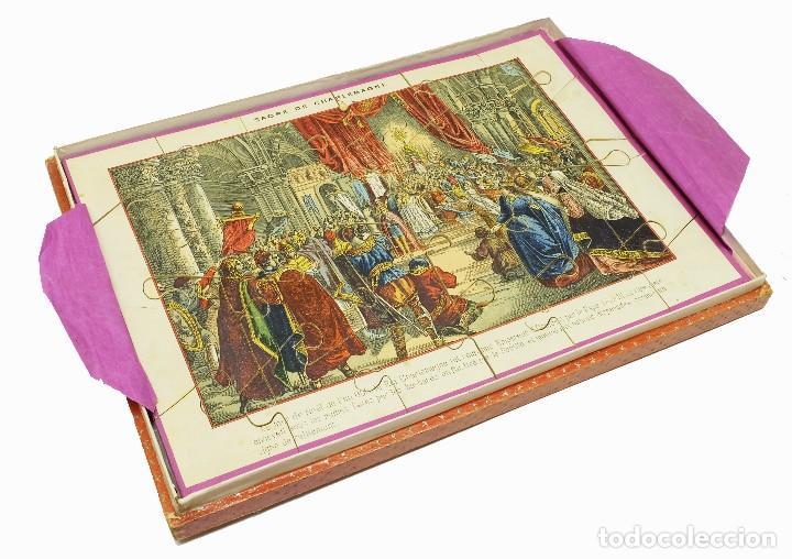 Puzzles: 1880 - Muy raros y antiguos puzzles (3) de Historia de Francia - En su caja - Foto 3 - 127653391