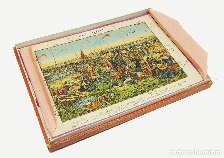 Puzzles: 1880 - Muy raros y antiguos puzzles (3) de Historia de Francia - En su caja - Foto 4 - 127653391