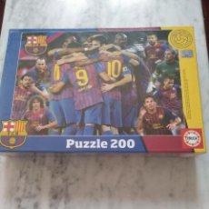Puzzles: PUZZLE FC.BARCELONA. 200 PIEZAS. ( PRECINTADO). Lote 128035507