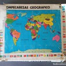 Puzzles: ROMPECABEZAS GEOGRÁFICO BORRAS. Lote 128378967