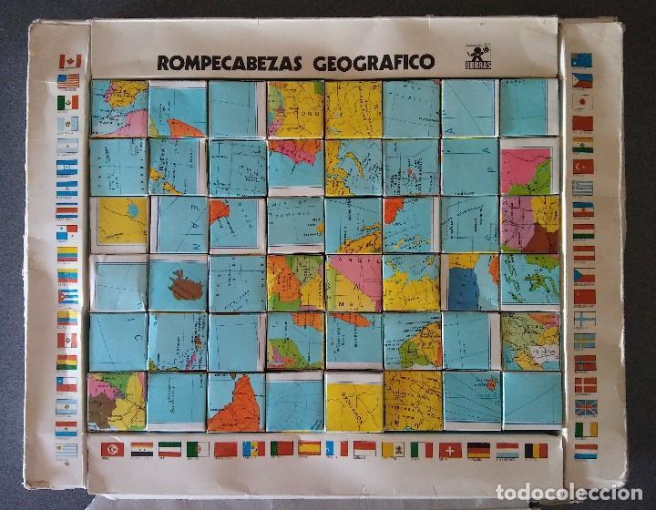 Puzzles: Rompecabezas Geográfico Borras - Foto 3 - 128378967